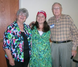 Julie, Desiree, and Roger